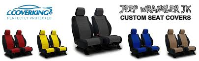 coverking neoprene tan front seat covers for jeep wrangler jk 2016 2017