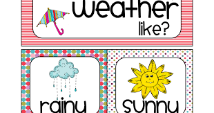 Weather Chart For Preschool Classroom Printable Weather Chart Bright_merged Pdf Preschool Weather Chart