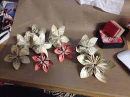 flowers ready to put together into ball