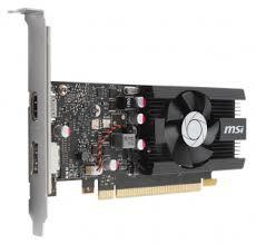 <b>Видеокарта MSI GeForce GT</b> 1030 LP OC (2Gb GDDR5, HDMI + DP)