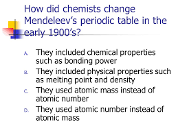 Elements and the Periodic Table Chapter 4. What will we learn ...