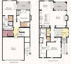 2 storey modern house designs and floor plans vintage