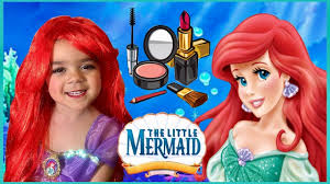 disney princess ariel makeup tutorial the little mermaid makeup disney makeup tutorial