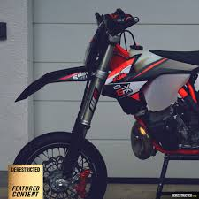 ktm 250 exc supermoto derestricted
