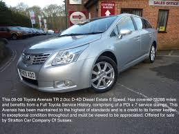 Used 2009 Toyota Avensis Tr 2.0cc D-4d for sale in East Sussex ...