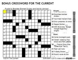 Tv Guide Chart For Short Crossword Try Solving The Current Crossword Puzzle The Current