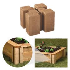 oldcastle 16202336 8 inch x 8 inch brown wall planter block at sutherlands