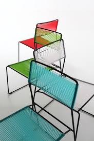stackable garden chair log spaghetti by