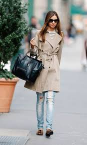 fashionable ways to style a classic trench coat 1