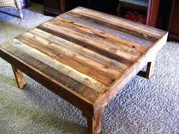 art coffee table reclaimed wood square coffee table art decor homes how to make rustic wood art coffee table