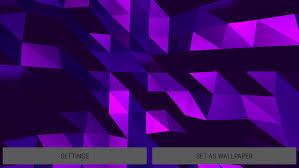 Crystal Edge 3D Parallax Live Wallpaper ...