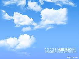 6 Hi Res Cloud Brushes Nature Photoshop Brushes Brushlovers Com