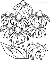 Small Picture Free Printable Flowers Coloring Pages Kids Coloring Free Printable