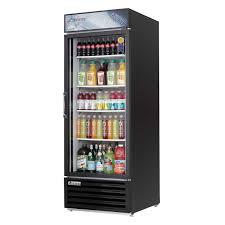 Glass Refrigerator Emgr24b Refrigerated Merchandiser 1 Section 2504 Cuft 1