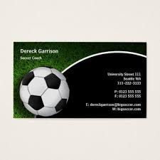 Soccer Business Card Soccer Football Sports Coach Business Card Zazzle Com