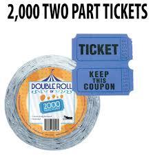 2 part raffle tickets prize wheels raffle drums popcorn machines plinko carnival