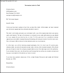 Sample Of Termination Letter Sample Letter For Termination For Just ...