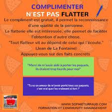 Les Citations Inspirantes Complimenter Nest Pas Flatter Agence