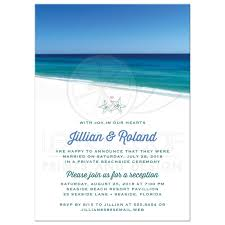 post wedding reception only invitations beautiful beach scene Wedding Reception Only Invitations beautiful beach scene post wedding reception only invitations wedding reception only invitations wording
