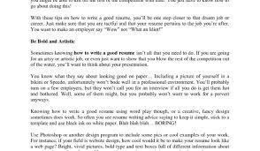 how to do a good resume free printable resume builders design