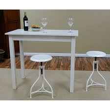 high top bar table and chairs our pavina pub bar table provides extra counter e in