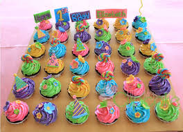 Decorating Birthday Cupcakes For Girls
