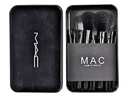 vergetm verge mac cosmetic makeup brush set 12 pcs