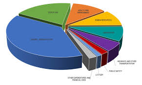 Budget Spending Pie Chart Kanview State Of Kansas State Expenditures Summary