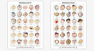 Emotion Chart For Kids Emotions Chart Hope 4 Hurting Kids