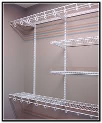 home depot wire shelves closet