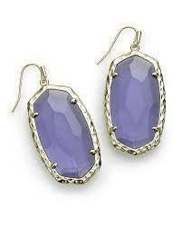 kendra scott women s blue ella drop earrings