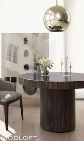 the berkeley dining table by modloft represents clean incisive design brilliant painted gl adorns