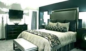 light gray walls with accent wall dark grey accent wall with light grey walls bedrooms with