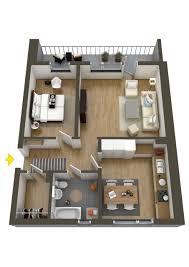 Modern Apartments Floor Plans Design Bedroom Floorplan Layout Twins Bedroom Rectangular Concept