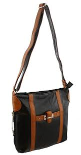 image unavailable image not available for color roma stylish leather locking concealment shoulder bag purse ccw