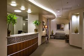 medical office interior design. Medical Surgery Clinic Receptionist Interior Furniture With Modern Recessed Ceiling Light Ideas 31 U0026 Decoration Designs In Office Design E