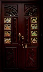 wooden small temple for home pooja room design home mandir ls doors vastu idols placement