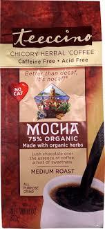 Teeccino <b>Chicory Herbal Coffee</b> Caffeine Free <b>Mocha</b> Medium ...