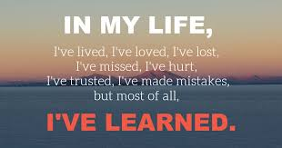 Image result for lessons in life