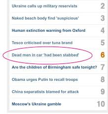 The Curse Of Quotation Marks On The Bbc Website Blaublog