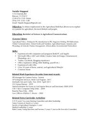 Teenage Resume Communications Supervisor Hospital Sample Jobion Templates Resume 58