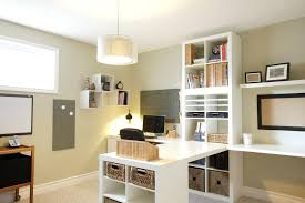 two desk office. Two Person Home Office Desk Double Sided Traditional With  Built In Locking Within .