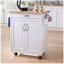 kitchen island cart white. Mainstays Kitchen Island Cart, White. This Stylish Furniture Has A  Solid Wood Top Kitchen Island Cart White
