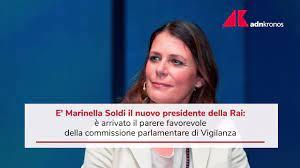 Marinella Soldi - The new boss of the Rai: Almost everyone chooses Marinella  .