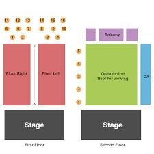 Mercury Ballroom Tickets And Mercury Ballroom Seating Chart