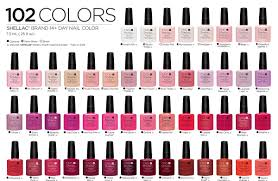 Cnd Gel Polish Color Chart Cnd Shellac Nail Polish Colors Chart Papillon Day Spa