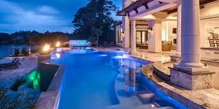 home swimming pools at night. Luxury Swimming Pool Home Pools At Night