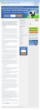 save on health insurance florida website history