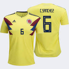 Cup Colombia World James 2018 Youth Home 10 Rodriguez Fifa Jersey
