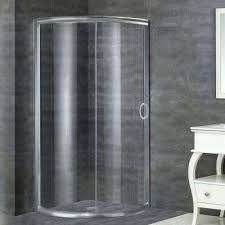 round shower doors showers the home depot ove